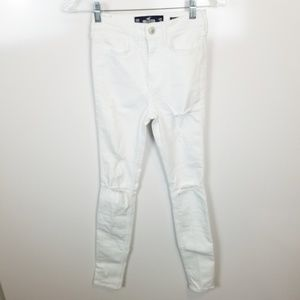 00R Hollister High Rise Super Skinny Jeans